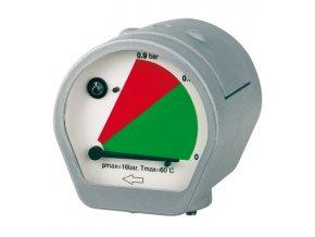 Manometr rozdílu tlaku MDM 60 E s LED alarmem