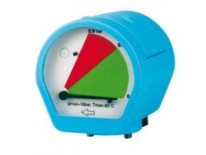 Manometr rozdílu tlaku MDM 60 C s beznapěťovým kontaktem alarmu
