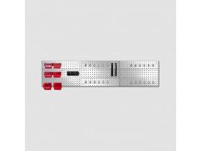 Závěsná stěna s držáky 3 díly 1725x385mm