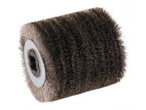 Brusný drátový kartáč Ø 0,2 mm, 100 x 100 x 19,1