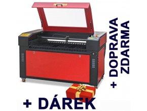 Gravírovací a řezací CO<sub>2</sub> laser C 1290 s CCD kamerou  + !!! DÁREK !!!
