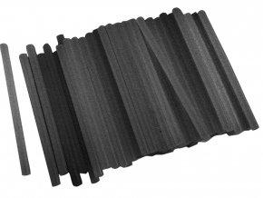 tyčinky tavné, černá barva, ∅11x200mm, 1kg