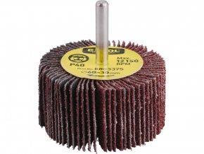 lamelový kotouč brusný na stopce, pr.60x30x6mm, P60