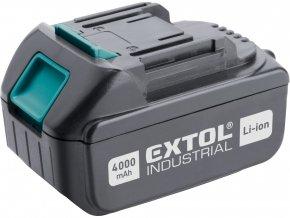 baterie akumulátorová 18V, Li-ion, 4000mAh