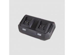Nabíječka baterie li-ion 2X18V,  3.5A