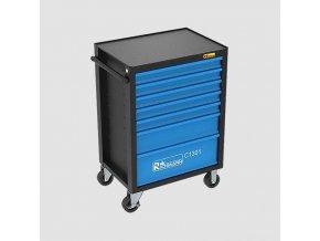Montážní vozík s nářadím, 7 zásuvek, 135dílů  + Dárek dle vlastního výběru
