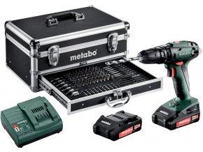 METABO SB 18 - aku příklepová vrtačka 18V v setu  + Dárek dle vlastního výběru