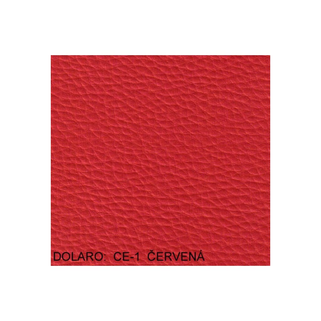 Koženka Dolaro CE1 Červená (Ekokůže)