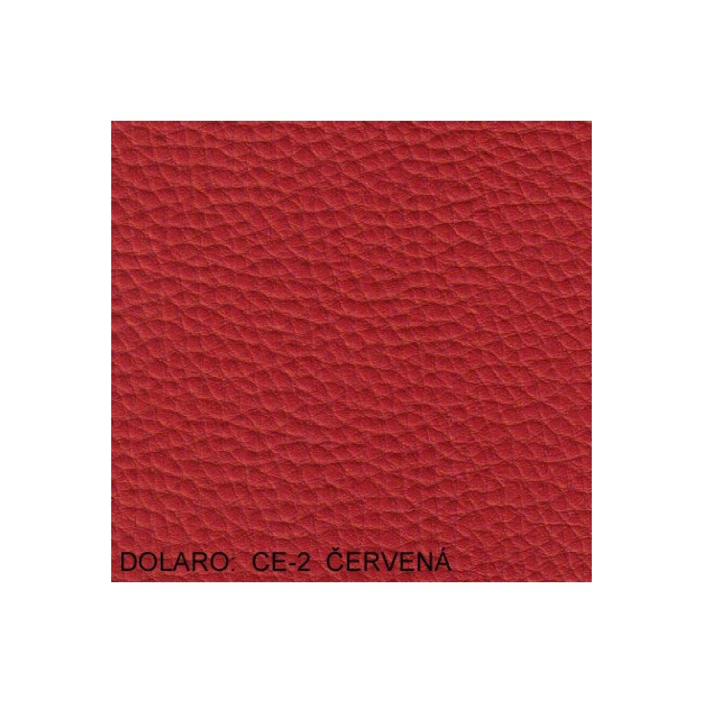 Koženka Dolaro CE2 Červená (Ekokůže)