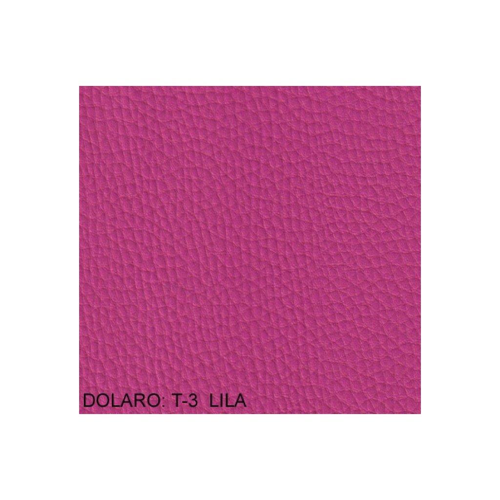 Koženka Dolaro T3 Růžová