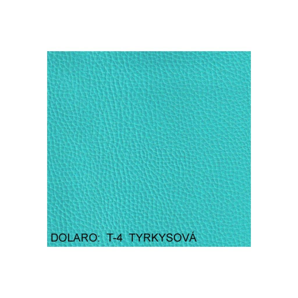 Koženka Dolaro T4 Tyrkysová (Ekokůže)
