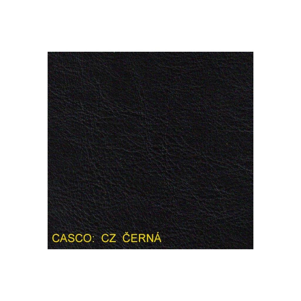 Koženka Casco CZ Černá