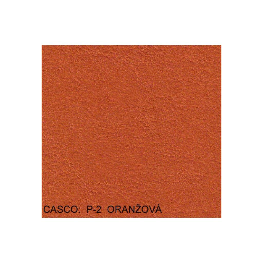 Koženka Casco P2 Oranžová (Ekokůže)
