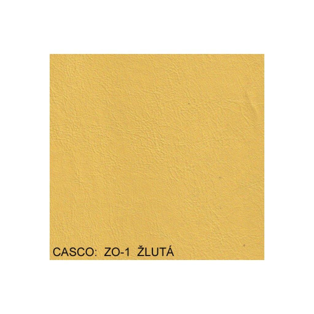 Koženka Casco ZO1 Žlutá (Ekokůže)