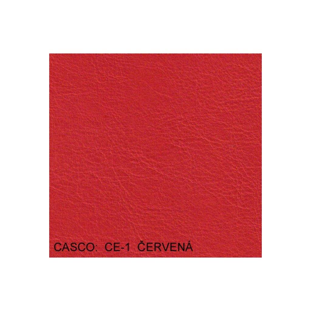 Koženka Casco CE1 Červená (Ekokůže)