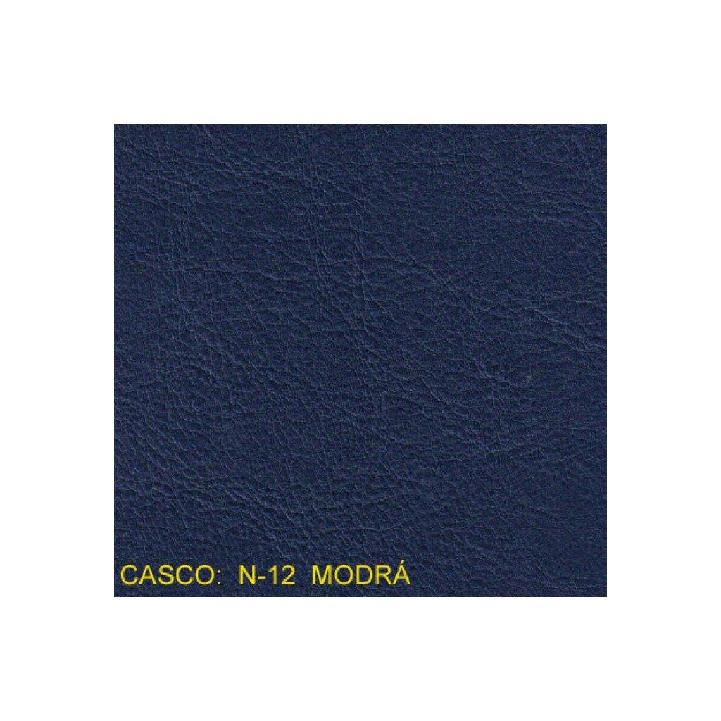 Koženka Casco N12 Modrá (Ekokůže)