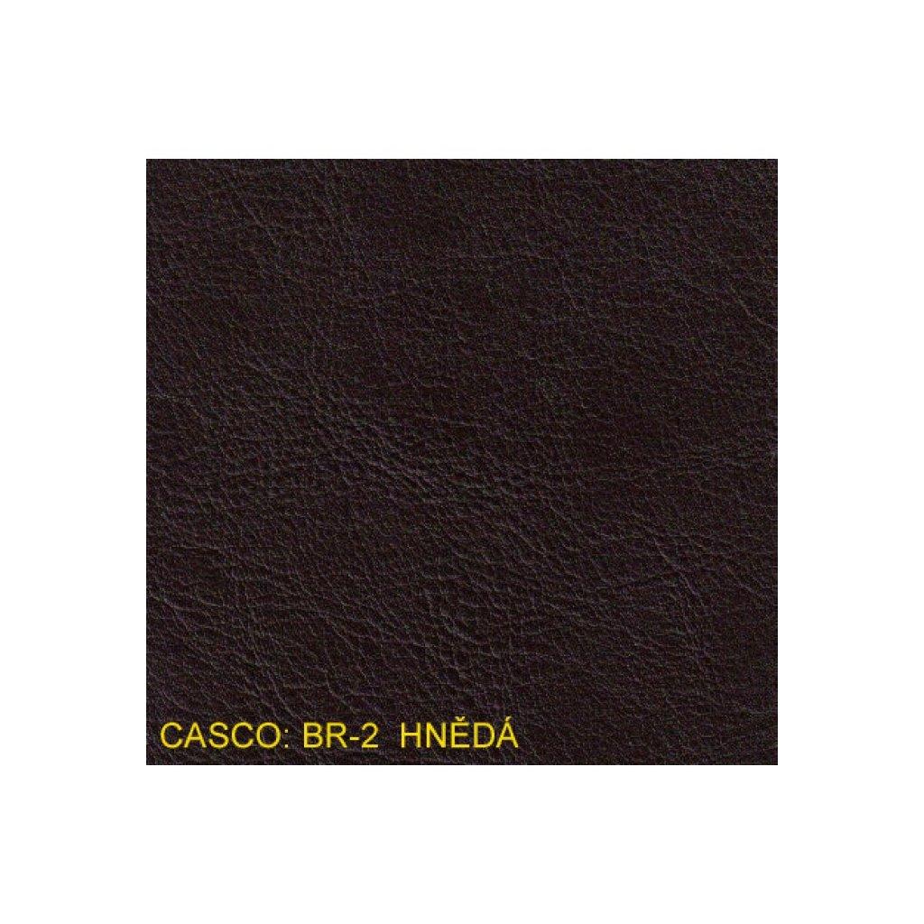 Koženka Casco BR2 Hnědá