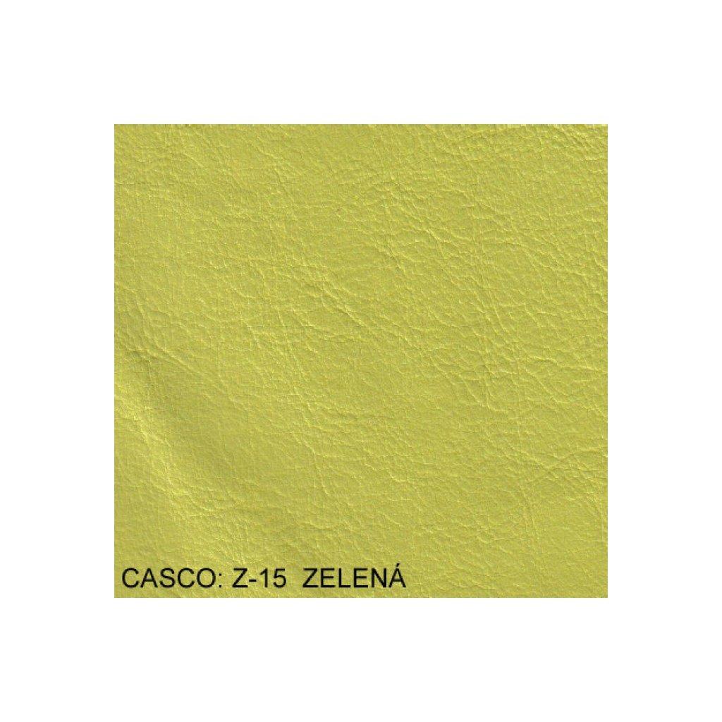Koženka Casco Z15 Zelená (Ekokůže)