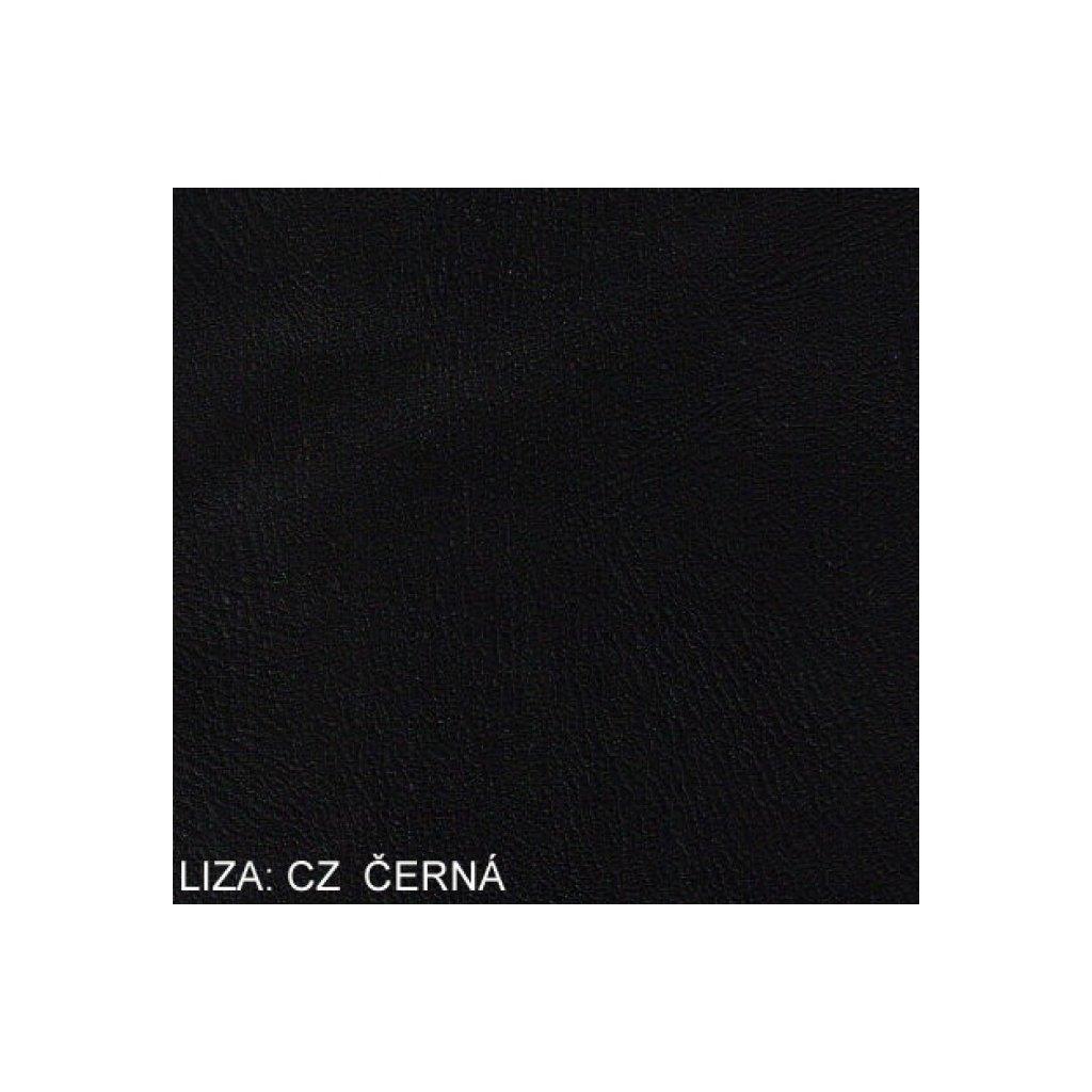 Koženka Liza CZ Černá (Ekokůže)