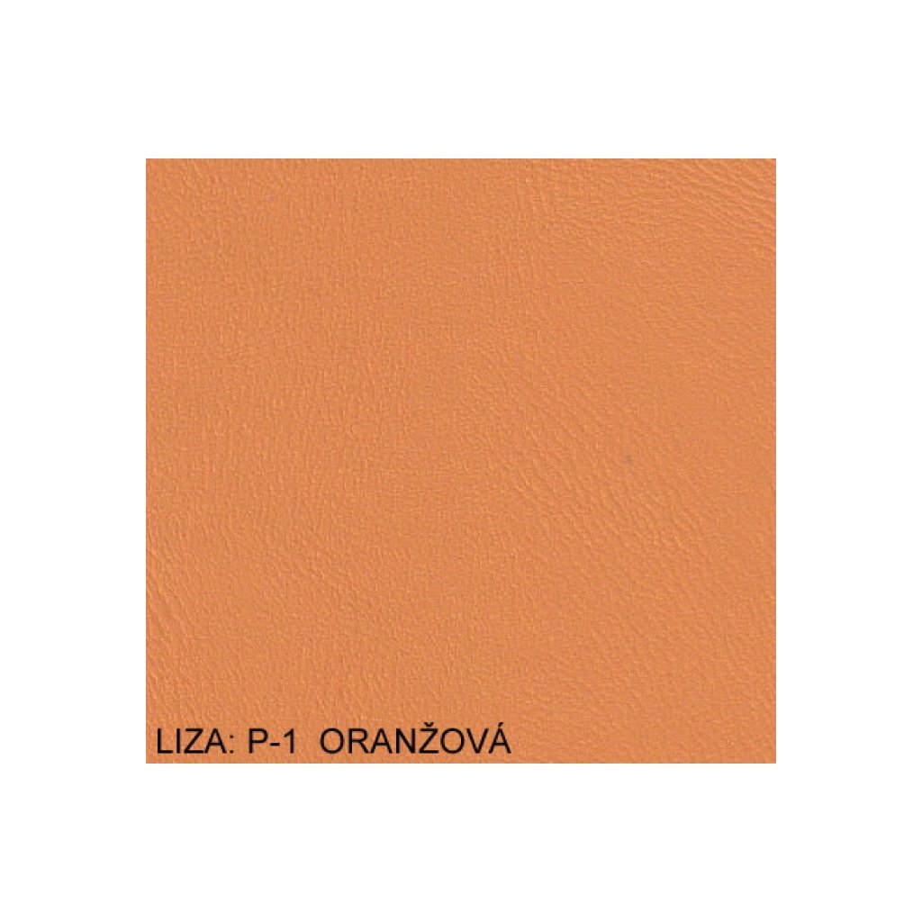 Koženka Liza P1 Oranžová