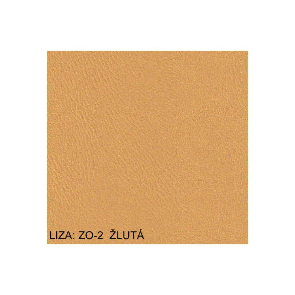 Koženka Liza ZO2 Žlutá (Ekokůže)