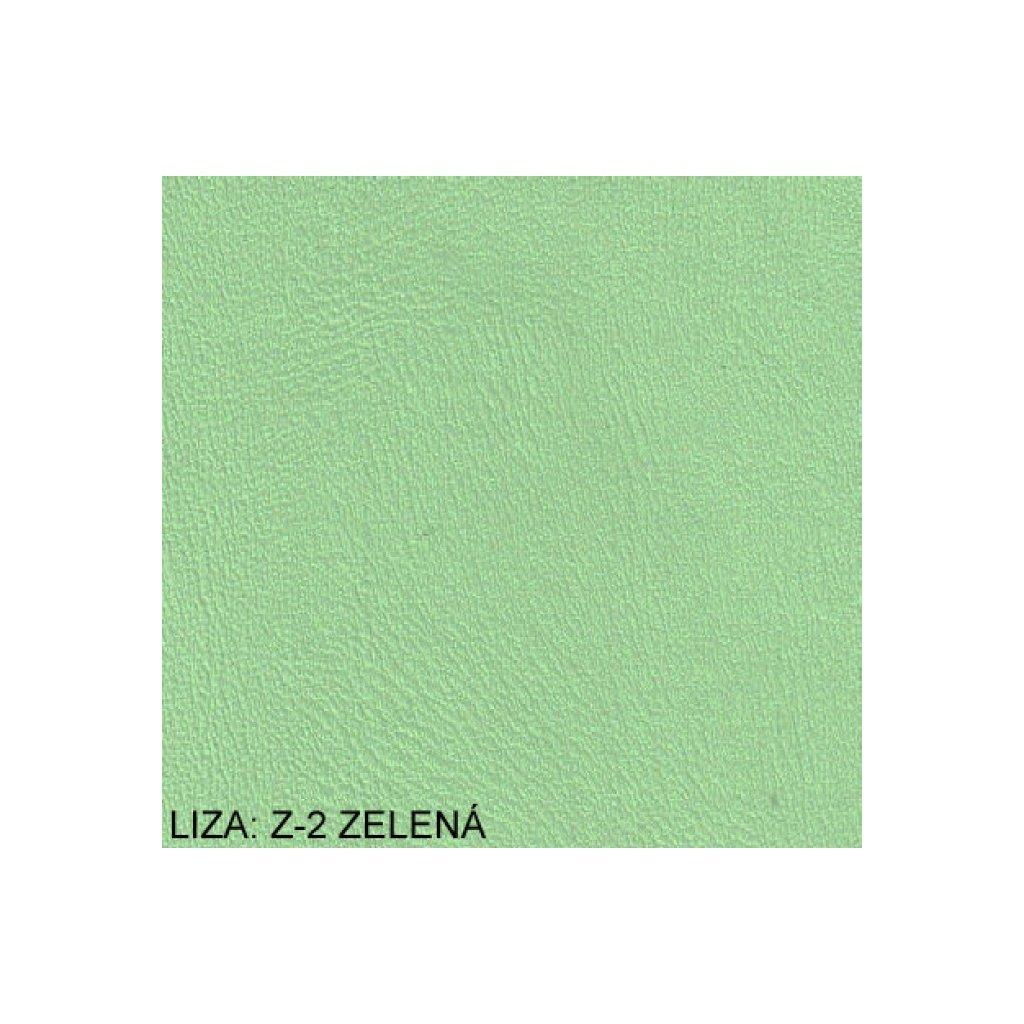Koženka Liza Z2 Zelená (Ekokůže)