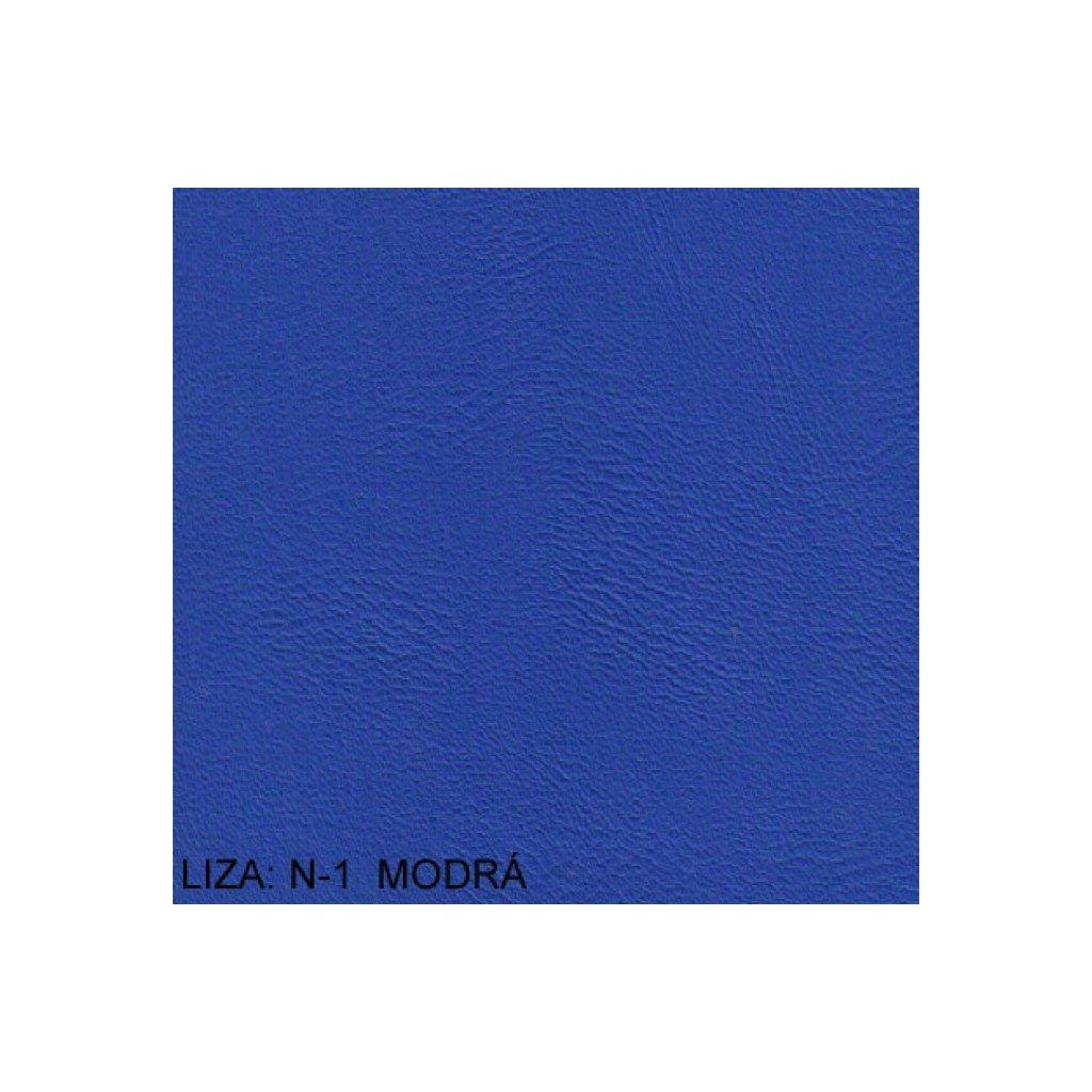 Koženka Liza N1 Modrá (Ekokůže)