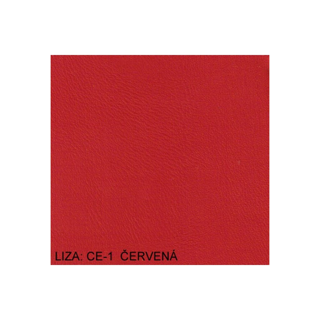 Koženka Liza CE1 Červená