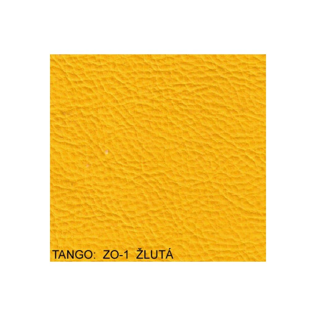 Koženka Tango ZO501 Žlutá (Ekokůže)