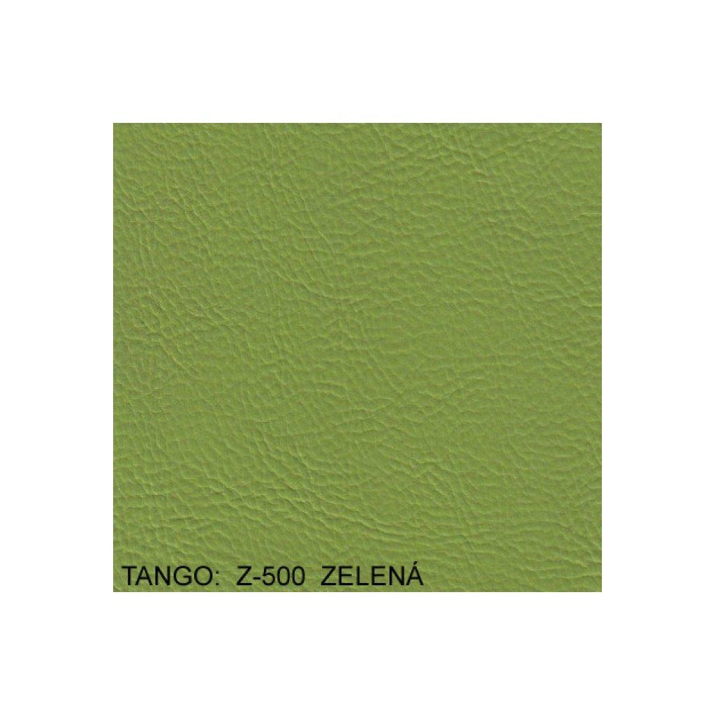 Koženka Tango Z500 Zelená (Ekokůže)