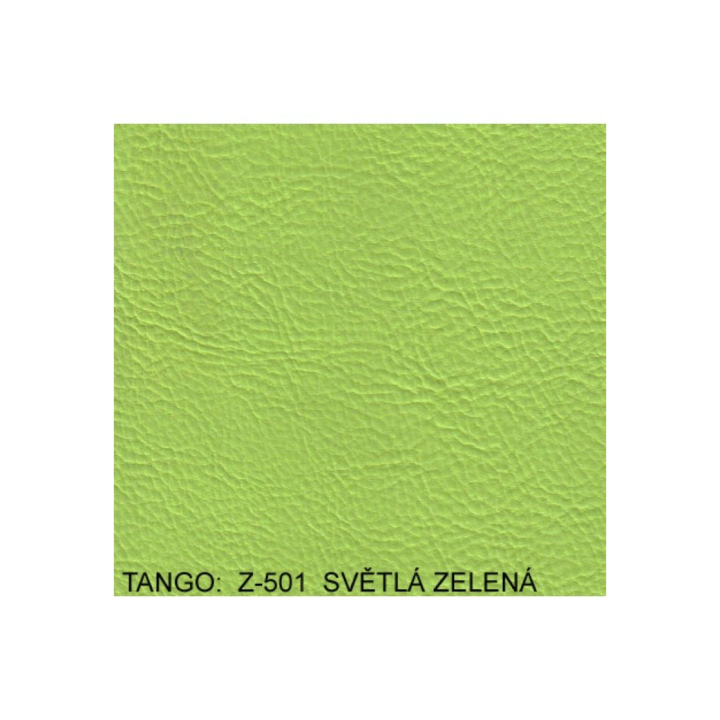 Koženka Tango Z501 Zelená (Ekokůže)