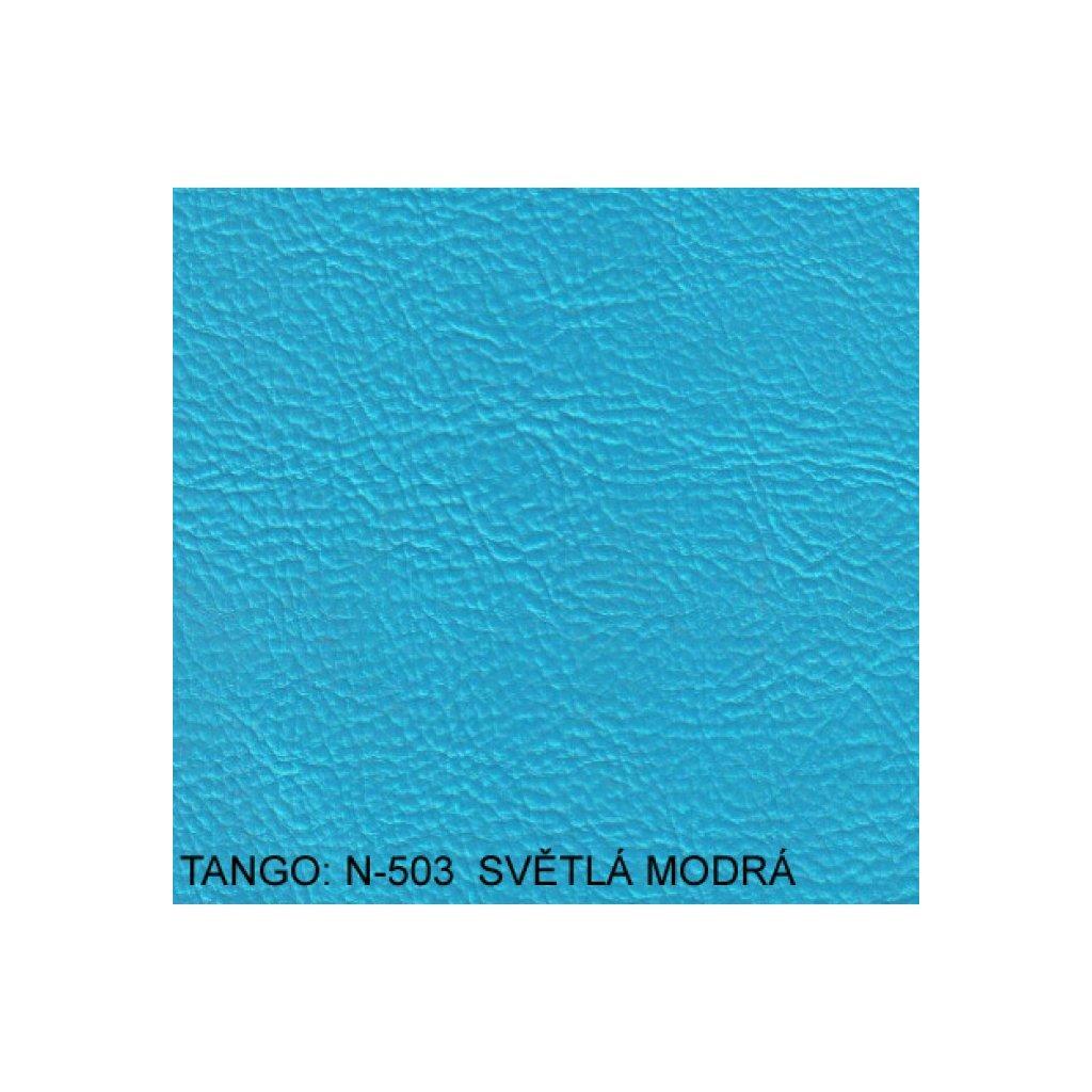 Koženka Tango N503 Modrá (Ekokůže)