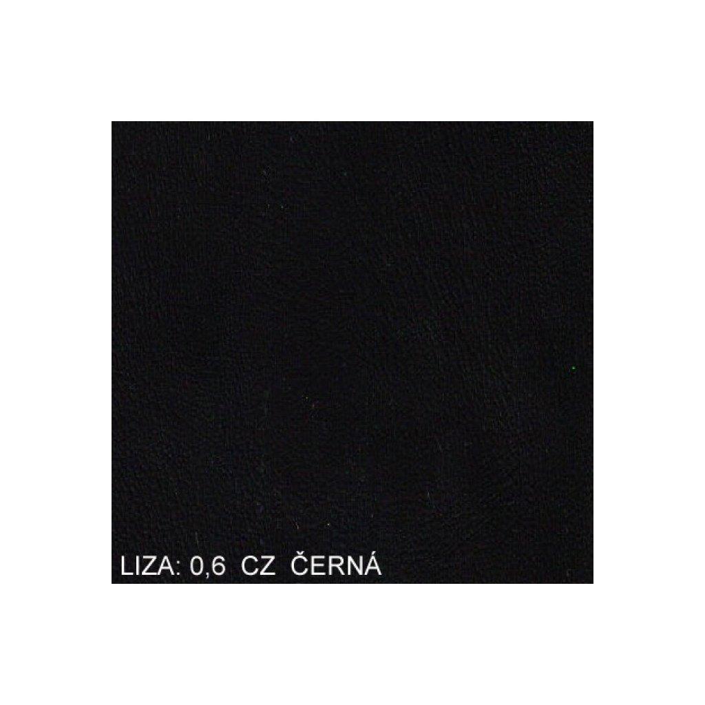 Koženka Liza 06 CZ Černá (Ekokůže)
