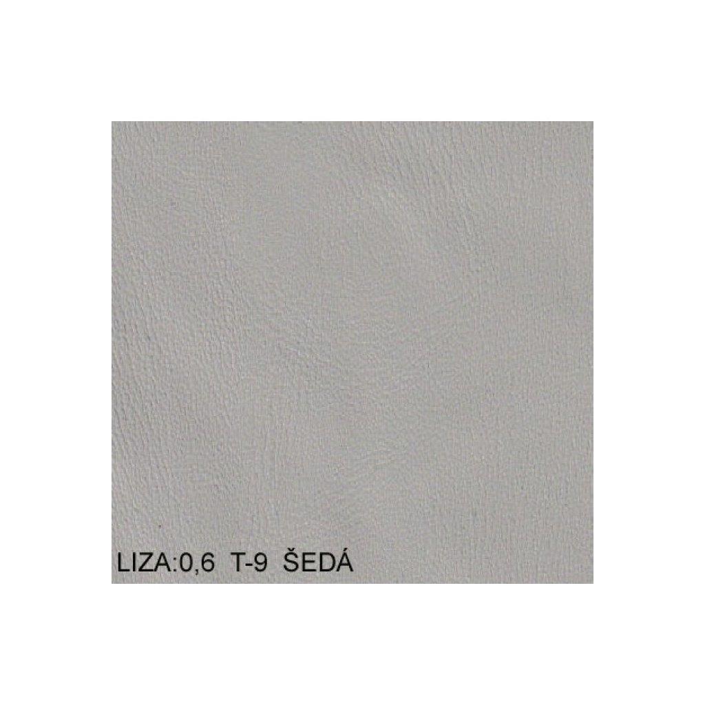 Koženka Liza 06 T9 Šedá (Ekokůže)