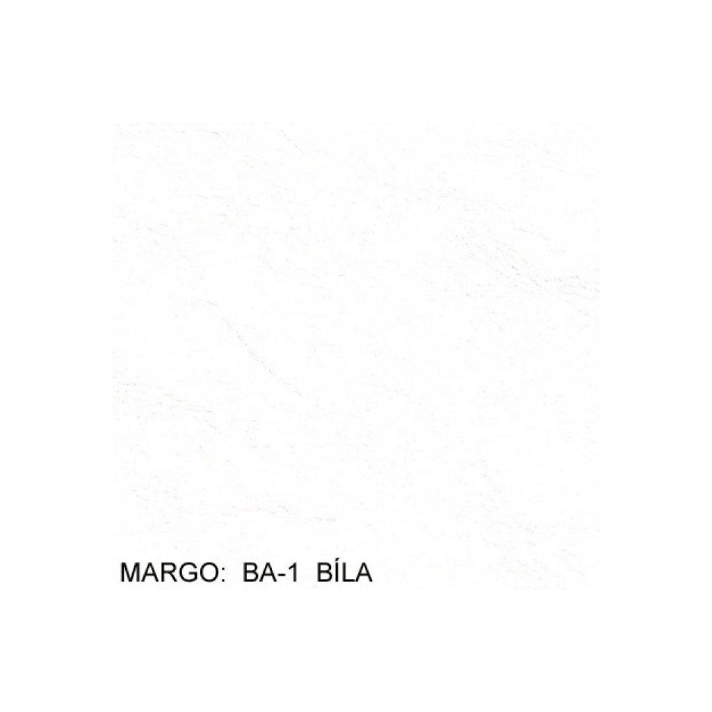Koženka Margo BA1 Bílá