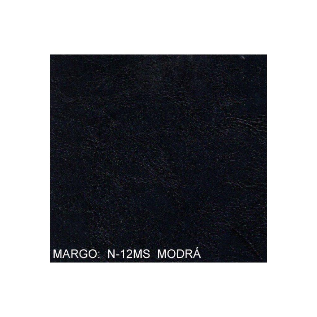 Koženka Margo N12MS Modrá (Ekokůže)