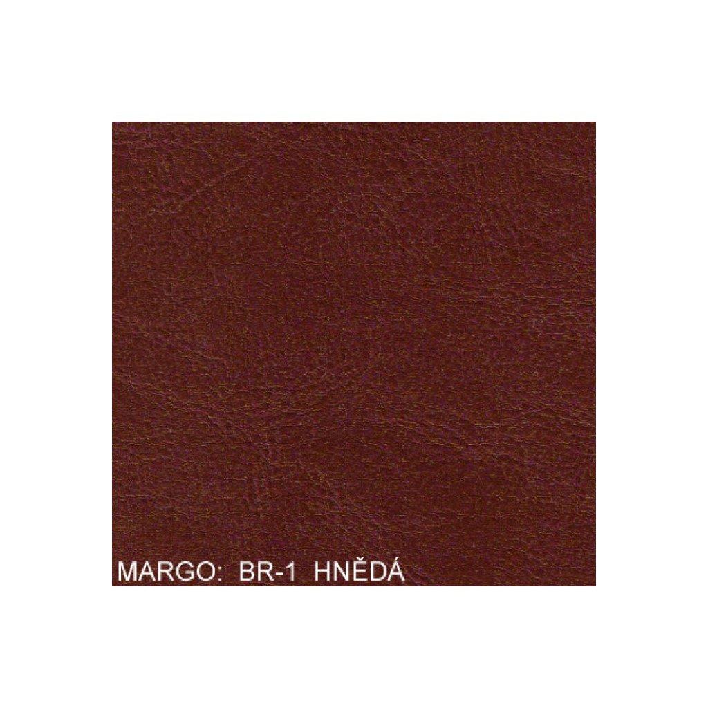 Koženka Margo BR1 Hnědá (Ekokůže)