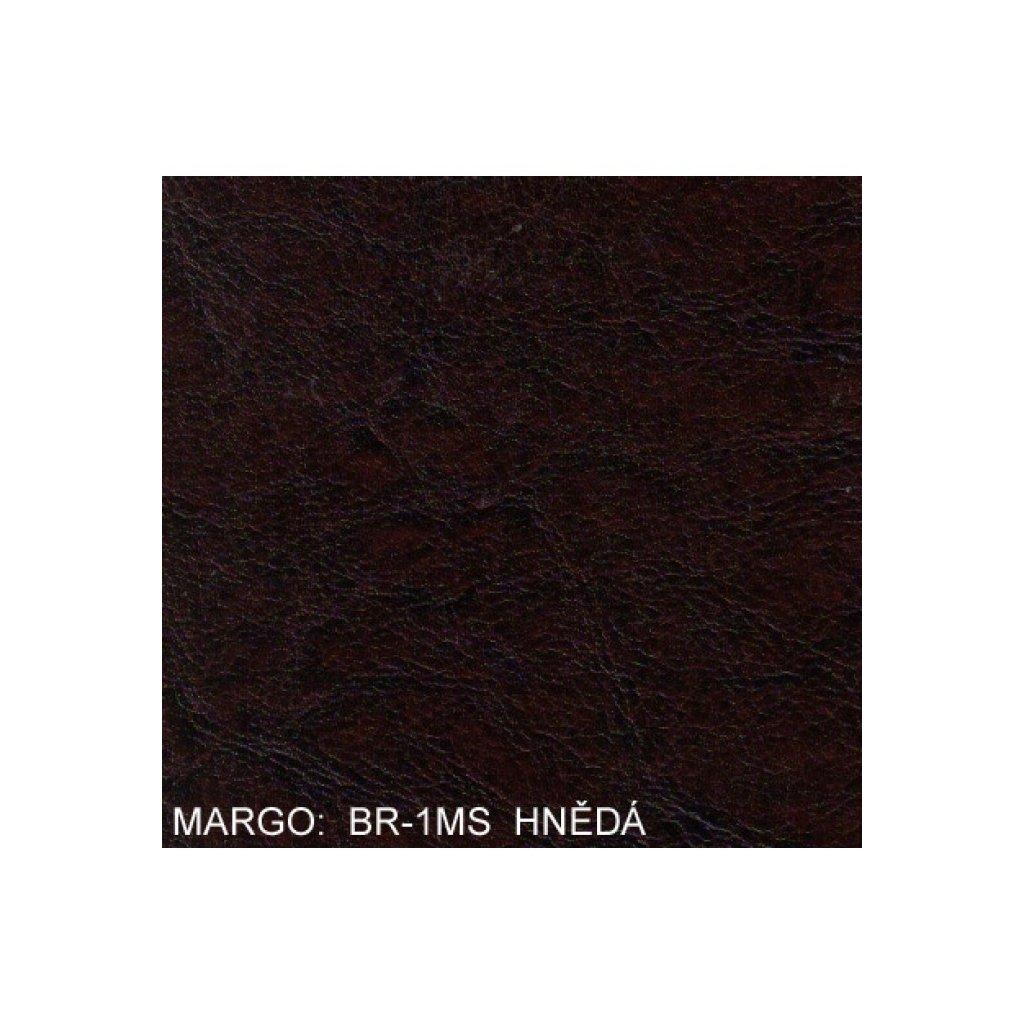 Koženka Margo BR1MS Hnědá (Ekokůže)