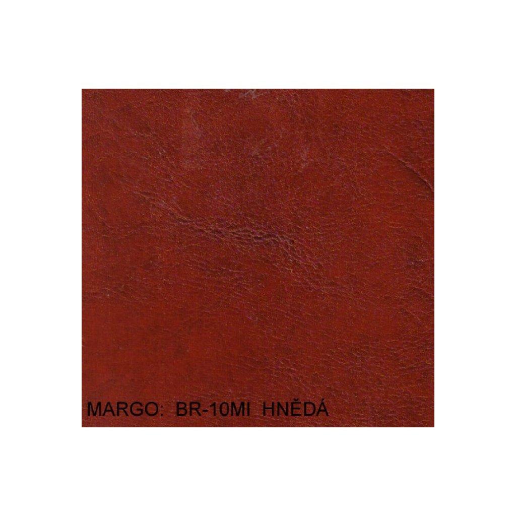 Koženka Margo BR10MI Hnědá (Ekokůže)