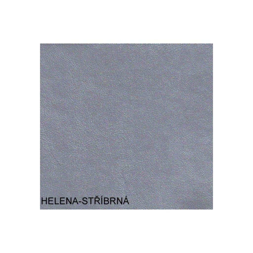 Koženka Helena -stříbrná (Ekokůže)