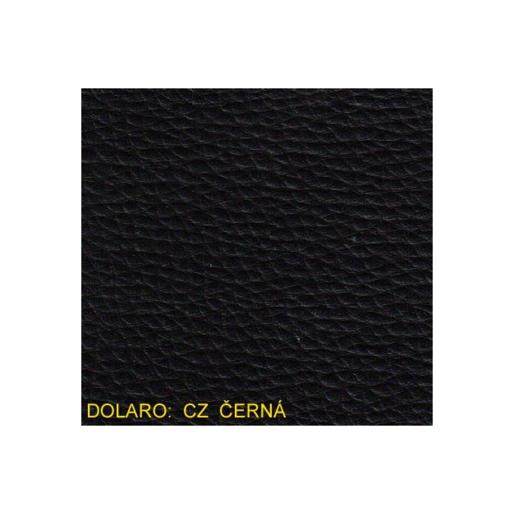 Koženka Dolaro CZ černá (Ekokůže)