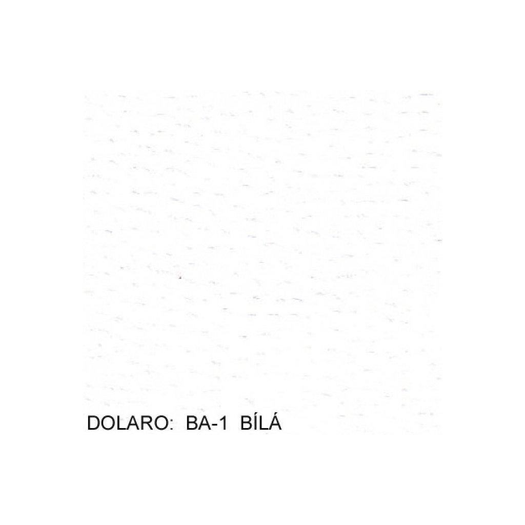Koženka Dolaro BA  1  bílá (Ekokůže)