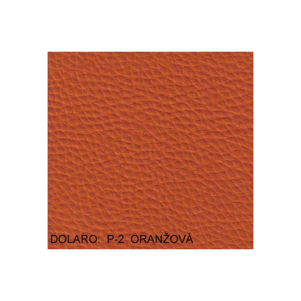 Koženka Dolaro P2 Oranžová