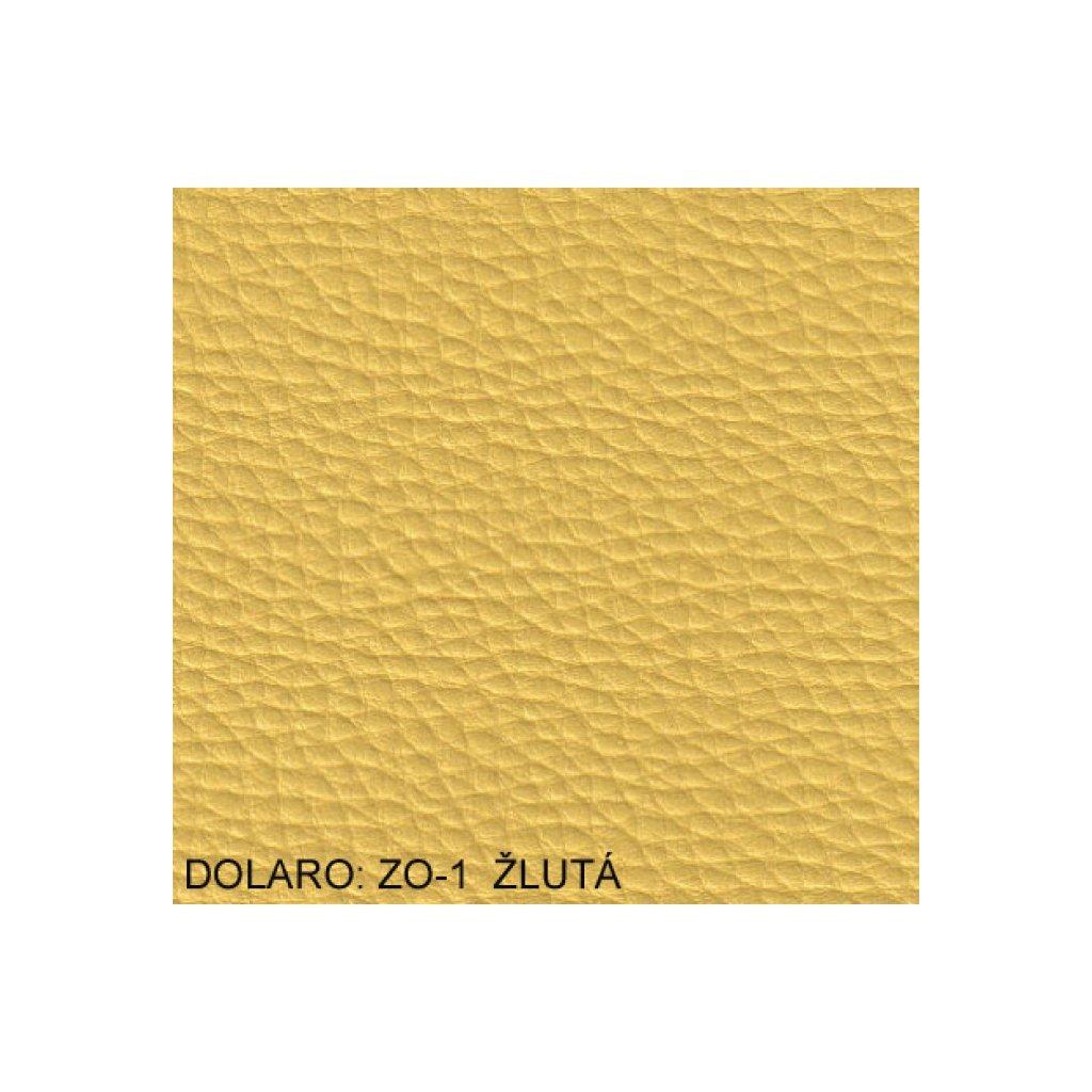 Koženka Dolaro ZO1 Žlutá (Ekokůže)