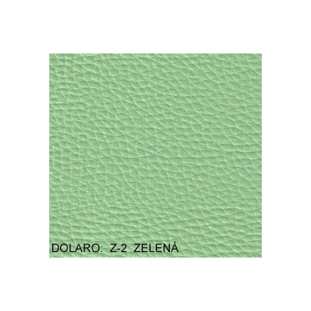 Koženka Dolaro Z2 Zelená (Ekokůže)