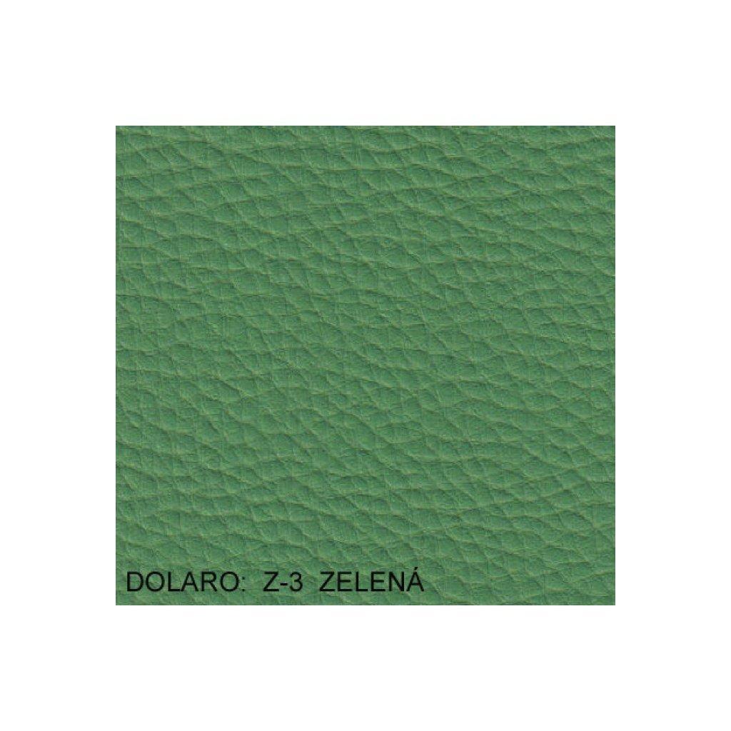 Koženka Dolaro Z3 Zelená (Ekokůže)