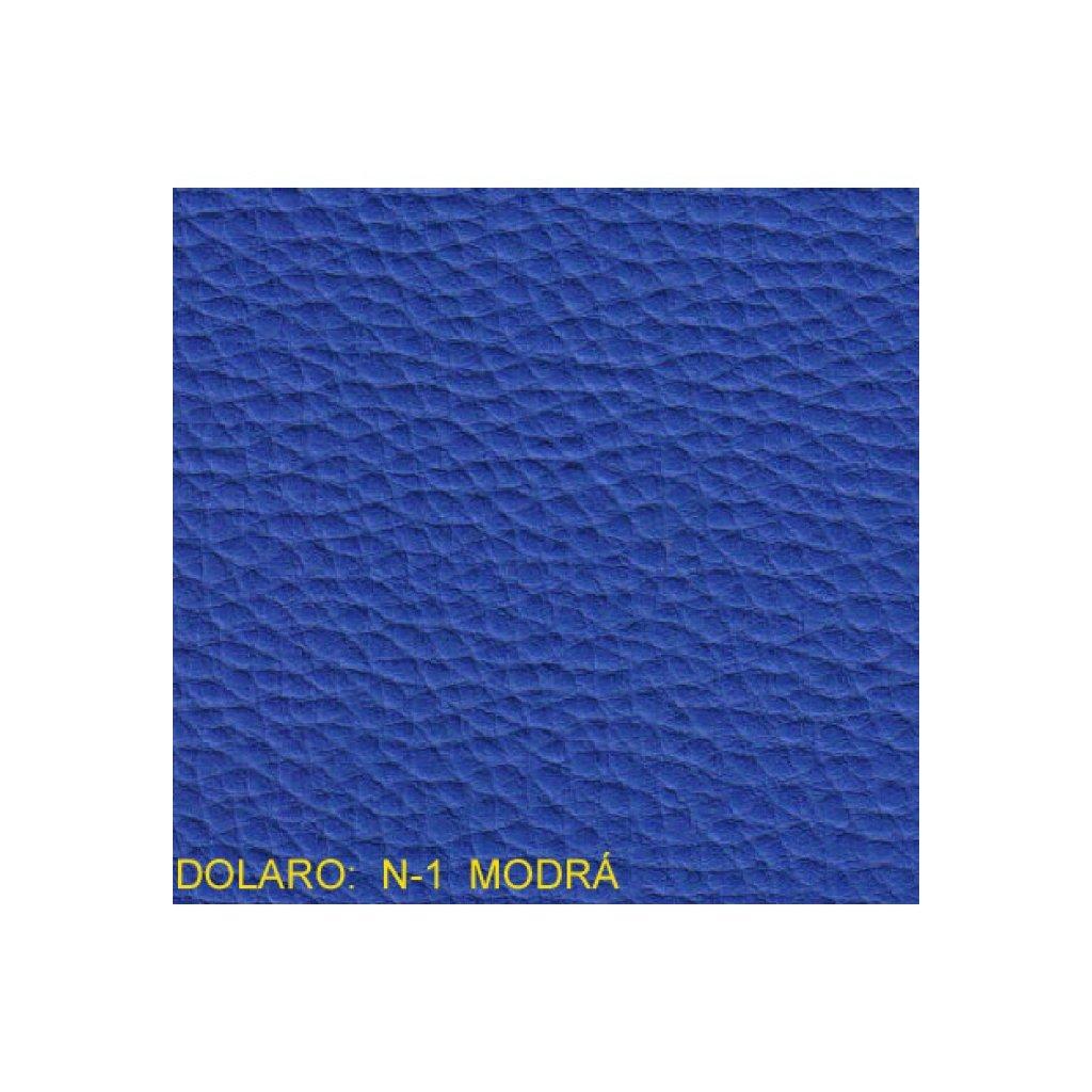 Koženka Dolaro N1 Modrá (Ekokůže)