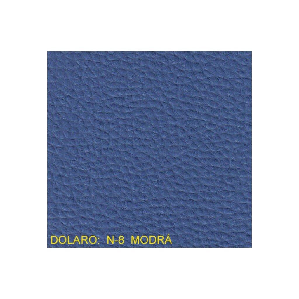 Koženka Dolaro N8 Modrá (Ekokůže)