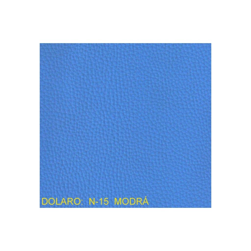 Koženka Dolaro N15 Modrá (Ekokůže)