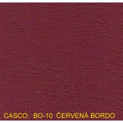 Koženka Casco BO10 Bordová (Ekokůže)